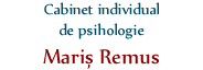 Logo Cabinet individual de psihologie Maris Remus